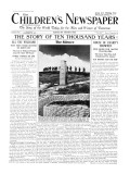 The Silence of Remembrance Day, Front Page of 'The Children's Newspaper', November 1934 Giclee Print by English School