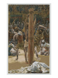The Scourging on the Back, Illustration from 'The Life of Our Lord Jesus Christ', 1886-94 Giclee Print by James Tissot
