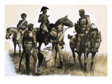 Forty Minute Victory That Changed a War, 1963 Giclee Print by Ron Embleton