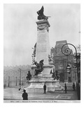 Monument to Leon Gambetta, Cour Napoleon, Louvre, 1888 Giclee Print by Jean-Paul Aube