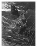 The Mariner, as His Ship Is Sinking, Sees the Boat with the Hermit and Pilot Giclee Print by Gustave Doré