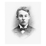 Lord Alfred Douglas, at the Age of Twenty-One, at Oxford, 1891 Giclee Print by English Photographer