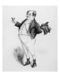 Mr. Pickwick, a Character from 'The Pickwick Papers' by Charles Dickens Giclee Print by Joseph Clayton Clarke