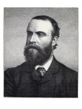Charles Stewart Parnell, Engraving after a Photograph by William Lawrence Giclee Print by  Irish Photographer