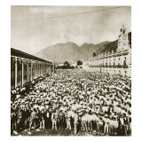 Strikers at the Rio Blanco Textile Works, 1907 Giclee Print