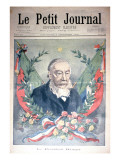 President Kruger, Front Cover of 'Le Petit Journal', 2 December 1900 Giclee Print by Oswaldo Tofani