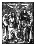 The Crucifixion, from the Small Passion, C.1509-11 Giclee Print by Albrecht Dürer