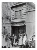 Children Outside John Pounds's Workshop, from Which He Ran the First Ragged School Giclee Print by  English Photographer