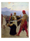 Saint Nicholas of Myra Saves Three Innocents from Death, 1890 Giclee Print by Ilya Efimovich Repin