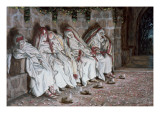The Foolish Virgins, Illustration for 'The Life of Christ', C.1886-94 Giclee Print by James Jacques Joseph Tissot