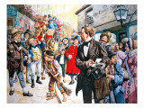 Old Curiosity Shop&#39; by Charles Dickens Written in 1840-1 Giclee Print by C.l. Doughty