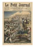 Elite Troops of French Army, French Foreign Legion in Morocco Giclée-tryk af  French School