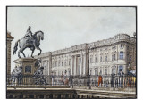 The Long Bridge with an Aristocratic Monument Giclee Print by F.A. Calau