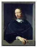 Portrait of a Gentleman, known as Arnaud D'Andilly Premium Giclee Print by Philippe De Champaigne