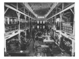 Interior View of New Machine Shop in Hagley Yard, 1905 Giclee Print by Pierre Gentieu