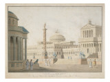 Capitol, Set for 'La Clemeza Di Tito' Designed by Beuther, 1815 Giclee Print by  German School
