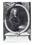 Friedrich Hoffmann, Engraved by F.G Wolffgang, 1735 Giclee Print by  Pesne