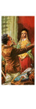 Heinrich Schliemann Adorning His Wife with Ornaments Dug Up on the Site of Ancient Troy Giclee Print by C.l. Doughty