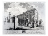 A Perspective View of the Foundling Hospital, Engraved by Edward Rooker, 1749 Giclee Print by Samuel Wale