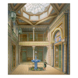 Copula Style Ceiling, Design for the Entrance Hall to Wilhelma, 1837 Giclee Print by Karl Ludwig Wilhelm Zanth