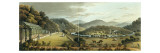 General View from the South and East Fronts of the Cottage at Endsleigh, Devon, Giclee Print by Humphry Repton