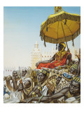 Mansa Kankan Musa I, 14th Century King of the Mali Empire Giclee Print by Mcbride 