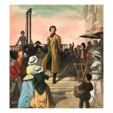 Sydney Carton, from 'A Tale of Two Cities' by Charles Dickens Giclee Print by Ralph Bruce