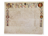 A Petition from the German Banking Family Fugger to Pope Alexander Vi Giclee Print by  German School
