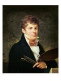 Portrait of Lancelot Theodore Turpin De Crisse Giclee Print by Louis Andre Gabriel Bouchet