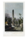 The Round Tower of Clondalkin, Engraved by Robert Brandard, 1844 Giclee Print by George Petrie
