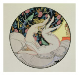 The Circle of Love, from the Pleasures of Eros, 1917 Giclee Print by Gerda Marie Frederike Wegener