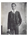 Jawaharlal Nehru as a Student of Harrow School, 1905-07 Giclee Print by English Photographer 