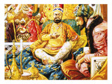 The Shah of Persia Obtaining the Koh-I-Noor Diamond Giclee Print by C.l. Doughty