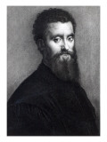 Self Portrait, Engraved by Jean-Louis Potrelle Giclee Print by Romano