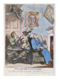 The Anatomy of Melancholy', Published by R. Ackermann, 1st March 1808 Giclee Print by  Rowlandson