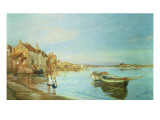 All on a Summer's Day, at Bosham, Sussex, 1888 Giclee Print by Charles William Wyllie