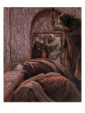 Jesus in the Tomb, Illustration for 'The Life of Christ', C.1884-96 Giclee Print by James Tissot