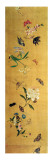 One Hundred Butterflies, Flowers and Insects, Detail from a Handscroll Lmina gicle por Chen Hongshou