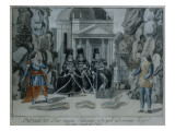 Scene from 'The Magic Flute' by Wolfgang Amadeus Mozart Giclee Print by  German School