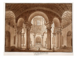 Santa Costanza. the Family Tomb of Constantine, Called the Temple of Bacchus, 1833 Giclee Print by Agostino Tofanelli