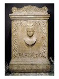 Funerary Stele of a Ten Year Old Girl Called Julia Victorina, Roman Giclee Print