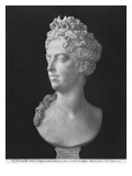 Bust of Marie-Adelaide De Savoie, Duchess of Burgundy, 1710 Giclee Print by Antoine Coysevox