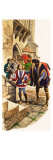 The Wonderful Story of Britain: the Princes in the Tower Giclee Print by Peter Jackson
