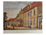 The Palace of Prince Ferdinand of Prussia, Berlin Premium Giclee Print by Johann Carl Wilhelm Rosenberg