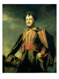 Lt. Col. Sir John James Fraser in Hussar Uniform Premium Giclee Print by Sir Henry Raeburn