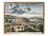 View of Acapulco, Illustration from 'Hectomopolis', Published in Amsterdam in 1700 Giclee Print by Schenk