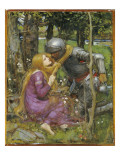 A Study for 'La Belle Dame Sans Merci', C.1893 Giclee Print by John William Waterhouse