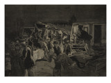 The Derailment at Moirans, from 'Le Petit Parisien', 8th November 1891 Giclee Print by Beltrand and Clair-Guyot, E. Dete