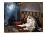 Annunciation, Illustration for 'The Life of Christ', C.1886-96 Giclee Print by James Jacques Joseph Tissot