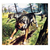 The Call of the Wild, Based on the Novel by Jack London Giclee Print by Barrie Linklater